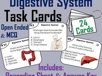 Digestive System Task Cards