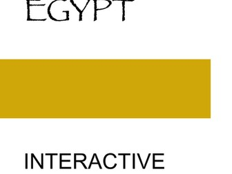 Ancient Egypt: Interactive Notebook Graphic Organizers for Ancient Egypt
