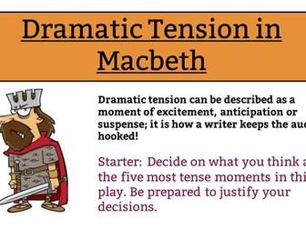 Dramatic Tension in Macbeth