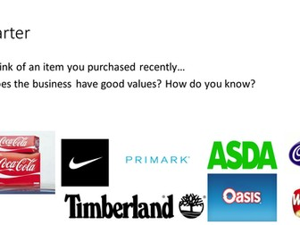 gcse business ethics