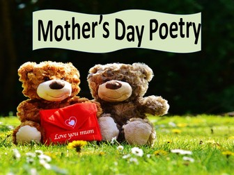 Mother's Day Poetry Pesson - Word Association