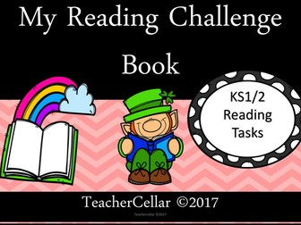 My Reading Challenge Task Cards