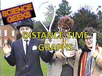 PHYSICS - DISTANCE -TIME GRAPHS - THE PRESENTATION!