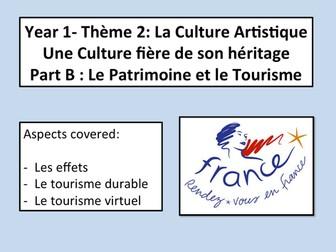 Le patrimoine- Le patrimoine et le tourisme- AS French