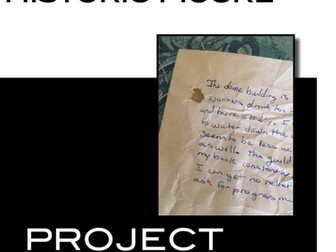 Create a journal as a historic figure or literary character project