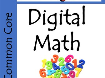 Kindergarten Digital Math Game - Common Core Aligned