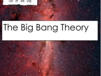 Space. Big Bang Theory. Facts and Worksheet