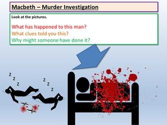 Macbeth: Macbeth Murder Mystery