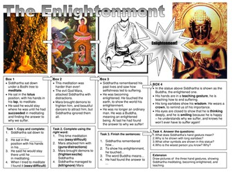 Buddhism the 4 Noble truths and Eightfold path