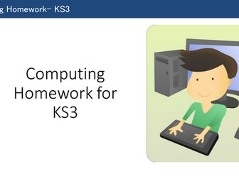 Homework strategies for KS3 computing