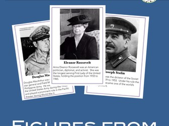 The Second World War - The People of World War II-Inquiry center activity and game
