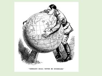 The Second World War - Propaganda & Political Cartoons Station Activities