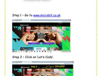 BBC micro:bit Step by Step Instructions