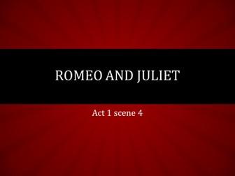 Romeo and Juliet - Mercutio focus