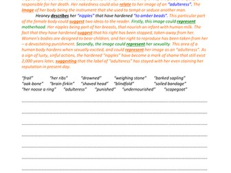 Poetry   A Level English   Marked by Teachers com GradeSaver