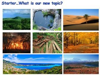 AQA NEW SPEC GCSE: Ecosystems