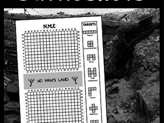 Anzac Day -'Battleshots' game