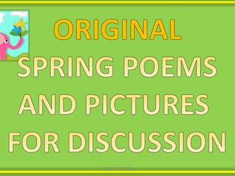 Spring Poems - KS2