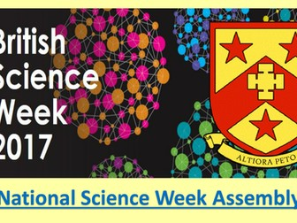 National Science Week Assembly 2017