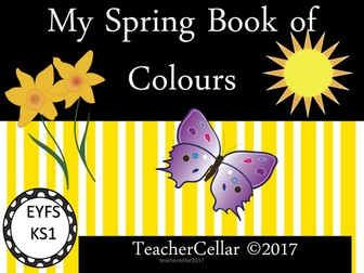 My Spring book of Colours