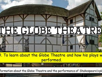 Shakespeare's Theatre with worksheets
