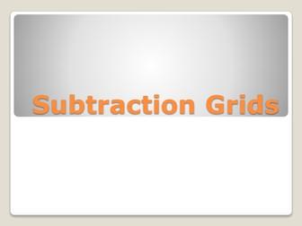 Subtraction & Addition Grid Starter