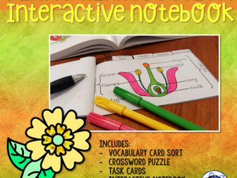 Plant Reproduction Interactive Notebook Activity