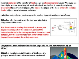 Infrared Radiation Homework