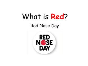 What is Red activity for Red Nose Day