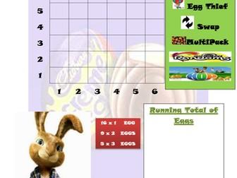 Easter Maths Game (Pirate game variation)