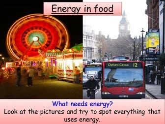Year 7 Physics - Energy transfers, Storing energy, Renewable/non-renewable energy resources