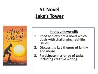 Jake's Tower by Elizabeth Laird Unit of Study