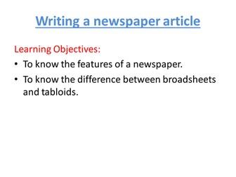 Persuasive Articles