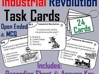Industrial Revolution Task Cards