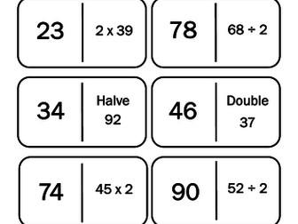 Doubles / Halves Loop Games