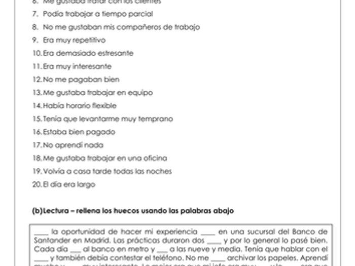 Preterite Worksheet Free Worksheets Library – Preterite Practice Worksheet