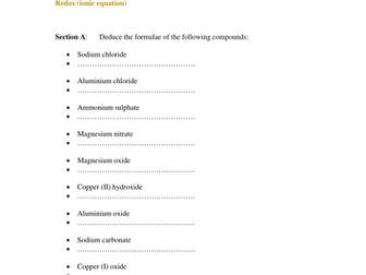 IGCSE Chemistry Petroleum refining Worksheet by husain1pipl ...