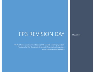 FP3 revision questions by mrvman | Teaching Resources