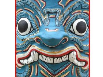 Art. Scheme off study - masks