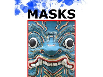 Art. Scheme of study - masks