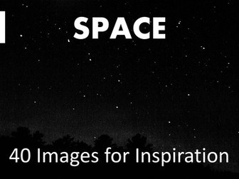 Art. Images of space for inspiration