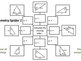 Trigonometry Spider