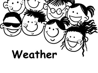 Word search. Weather