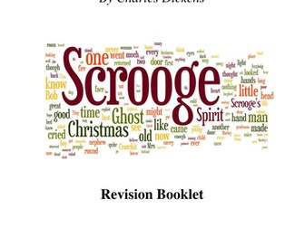 A Christmas Carol Revision Booklet