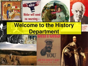 Year 9 WW1 Introduction lesson