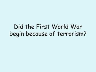 World War 1 - Sarajevo and the assassination of Archduke Franz Ferdinand