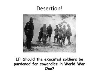 World War 1 - Desertion