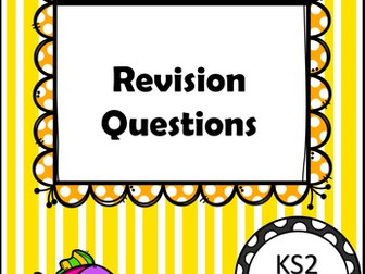 Sats Revision Numeracy Pack