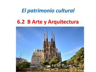 AQA A Level Spanish. Arte y Arquitectura 6.2.B.