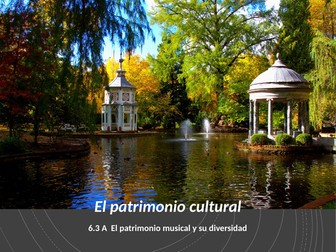 AQA A Level Spanish. El Patrimonio Musical. 6.3.A